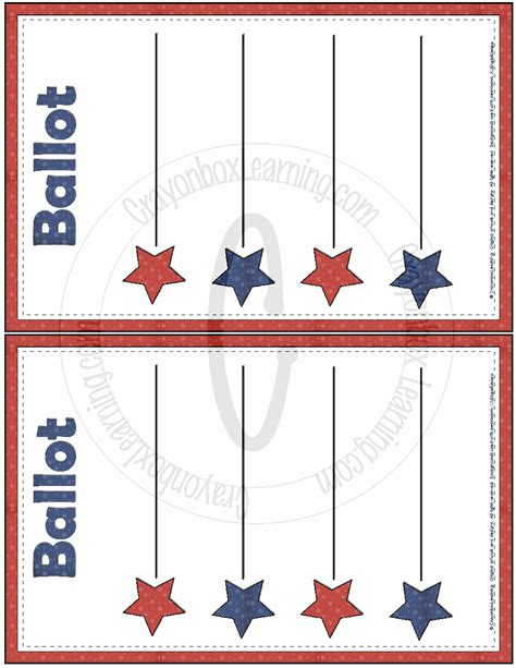 free voting ballot template blank ballot template free large images pinteres