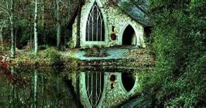 Cottage Tiny House chapel in the woods little country church pinterest