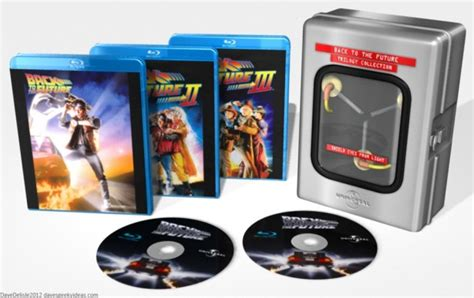 back to the future trilogy 30th anniversary flux capacitor edition back to the future trilogy 30th anniversary flux capacitor edition misc europe