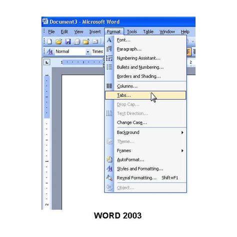 tutorialspoint ms word hanselman word tabs