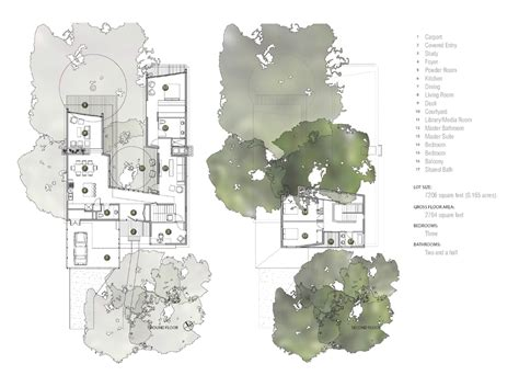 U Shaped House Plans With Courtyard work tree house matt fajkus architecture sustainable