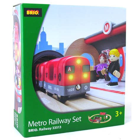 brio trains australia brio metro railway set
