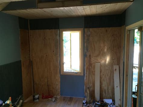 Stained Wainscoting by Keepercabin The Wainscot Paneling Was Stained With A
