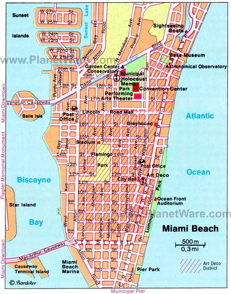 miami neighborhood map 17 top tourist attractions in miami planetware