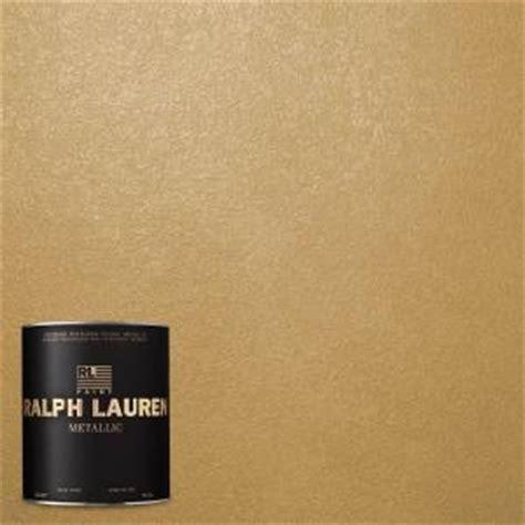ralph 1 qt golden buttermilk metallic specialty finish interior paint me133 04 the