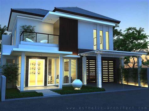 desain eksterior rumah 1 lantai gambar rumah minimalis modern 2 lantai hook desain