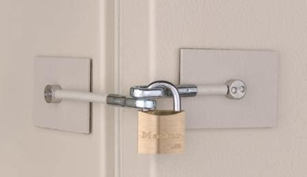 Refrigerator Door Locks by Ivory Refrigerator Door Lock