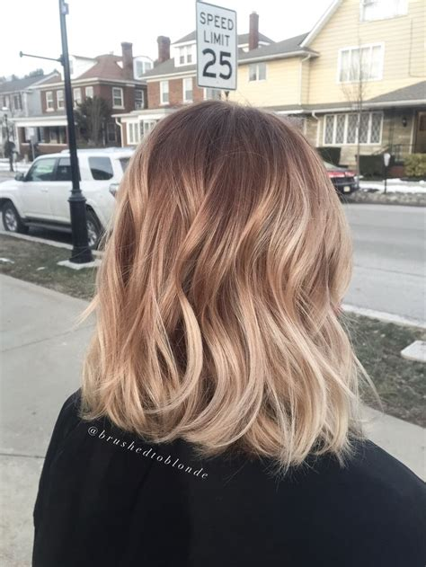 honey brown hair with blonde ombre balayage honey blonde