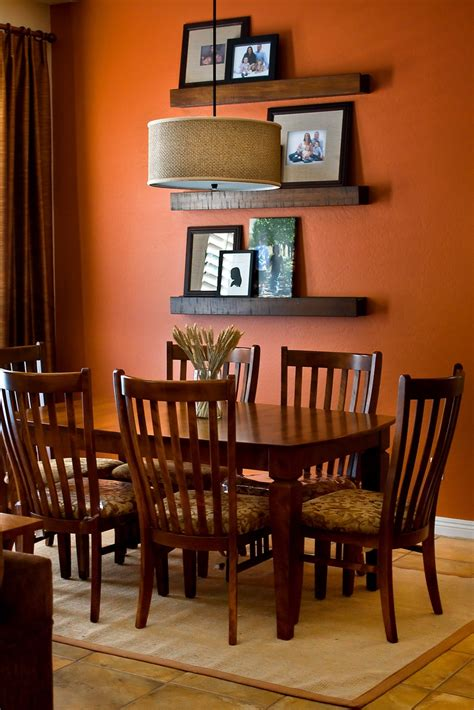 orange dining room sets burnt orange dining room alliancemv com