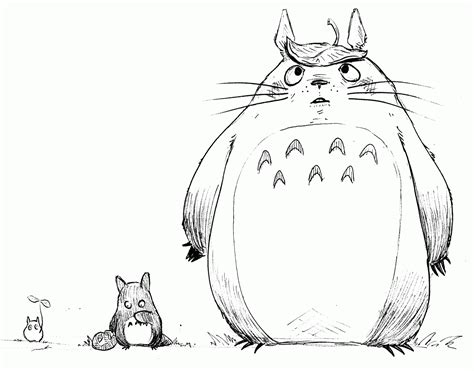 my neighbor totoro coloring pages coloring home