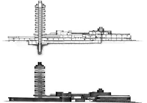 Prairie Style Floor Plans ad classics sc johnson wax research tower frank lloyd