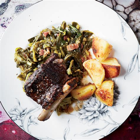 tom colicchio short ribs braised short ribs with miso collard greens recipe hugh
