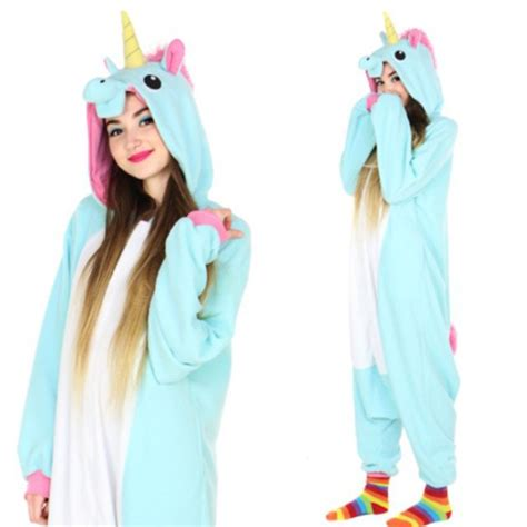 Pajamas Unicorn by Blue Unicorn Onesie At Shop Jeen Shop Jeen