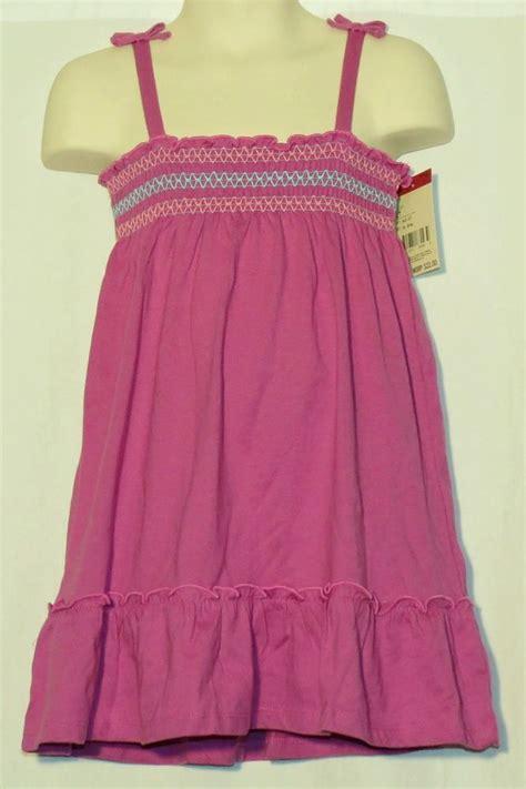 Dress Oshkosh 1 osh kosh 3t sundress new nwt 3 toddler bgosh smocked