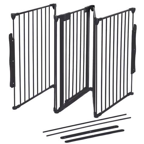 baby safety fence hearth gate bbq metal gate