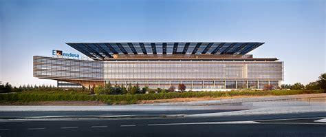 endesa oficinas en madrid sede central de endesa por rafael de la hoz arquitectos