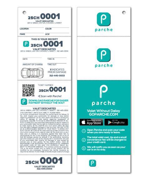 Custom Valet Ticket Valet Tags Car Checks Us Ticket Com Valet Parking Tickets Templates