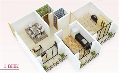 550 sq ft 1 bhk floor plan image dasnac designarch e 550 sq ft 1 bhk 1t apartment for sale in mahavir group