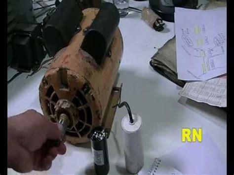 capacitor para motor de 1 2 hp bobinados tutorial 18 motor con doble capacitor