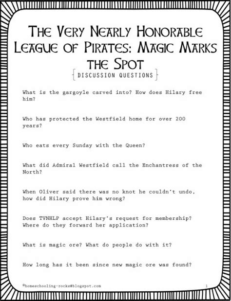 The Very Nearly Honorable League of Pirates: Magic Marks