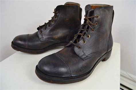 vintage 1940 s edwardian made brown leather