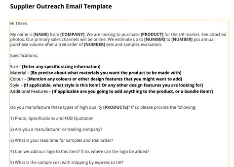 Supplier Outreach Template Jungle Scout Amazon Product Research Made Easy Jungle Scout Supplier Template