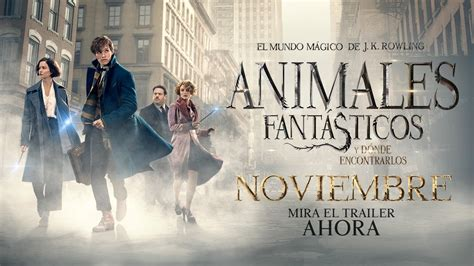 animales fantasticos y donde 8498387906 animales fant 193 sticos y d 211 nde encontrarlos trailer 3 oficial warner bros pictures youtube