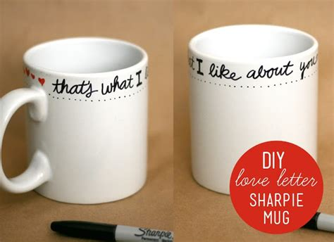 diy sharpie mug write on a plain white mug with a sharpie