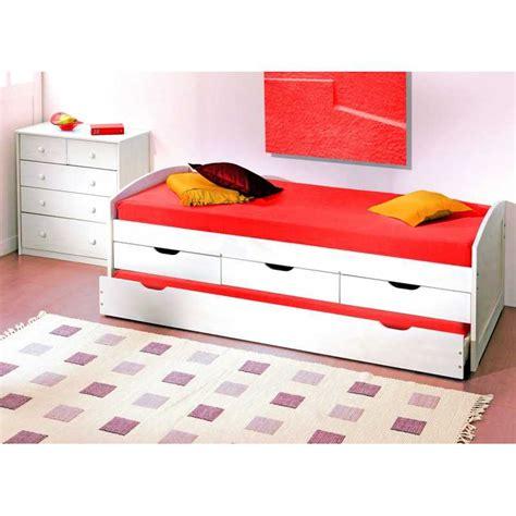 lit gigogne avec tiroirs de rangement lit gigogne rangement maison design wiblia