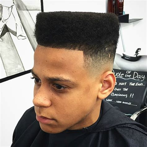 High Top Hairstyles by Flat Top Haircuts