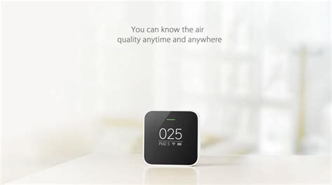 Xiaomi Smart Air Quality Monitor Pm2 5 Dealsmachine Xiaomi Smart Air Quality Monitor Pm2 5 Detector For Home
