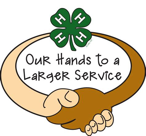 Tennessee 4 H Congress Service Project 2018 4 H Clipart