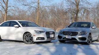2017 audi a4 vs 2017 mercedes c300 autoguide news