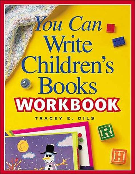 You Can Write Children S Books Workbook How To Write A Children S Picture Book Template