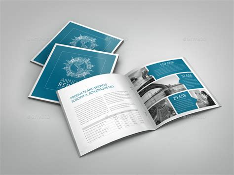 template brochure square annual report indesign square brochure by braxas