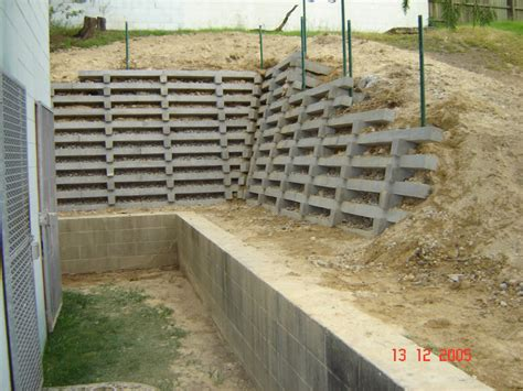 Concrete Crib Retaining Wall by Australian Retaining Walls Concrete Crib Retaining Wall