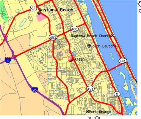 zip code map volusia county daytona beach fl zip code map zip code map