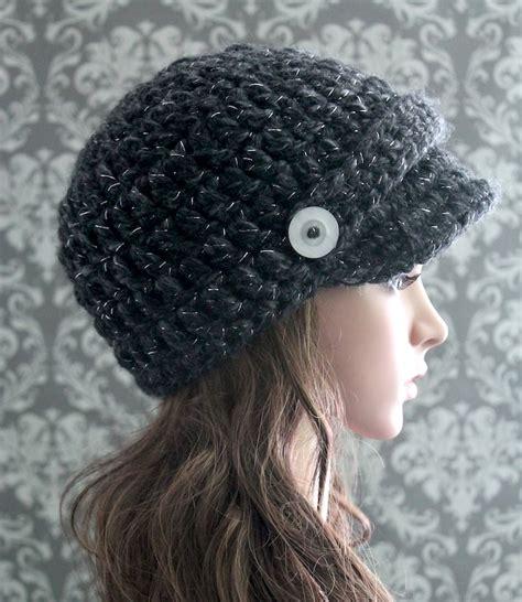 pattern crochet newsboy hat crochet newsboy hat pattern visor hat pattern posh