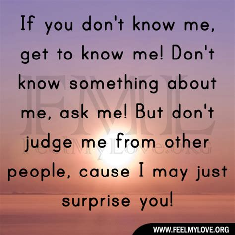 get to know me quotes quotesgram