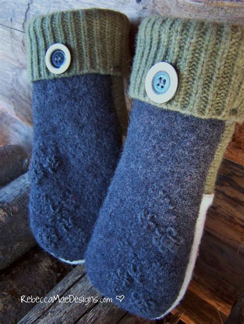 pattern felted wool mittens from sweaters make felted wool mittens from sweaters pattern felting