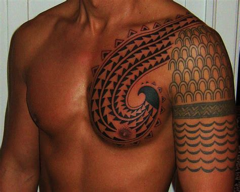 hawaiian tribal fish hook tattoo 25 superb hawaiian tribal tattoos creativefan
