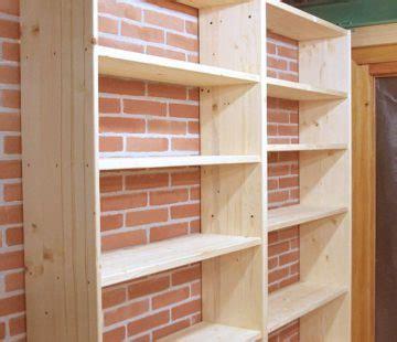 costruire uno scaffale in legno costruire uno scaffale