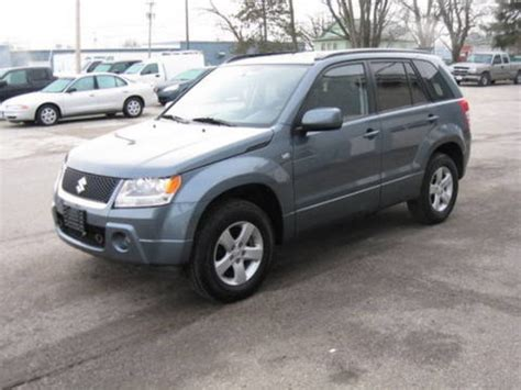 Problems With Suzuki Grand Vitara 2007 Suzuki Grand Vitara For Sale