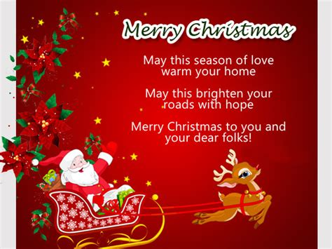 christmas messages greeting card  friends  families