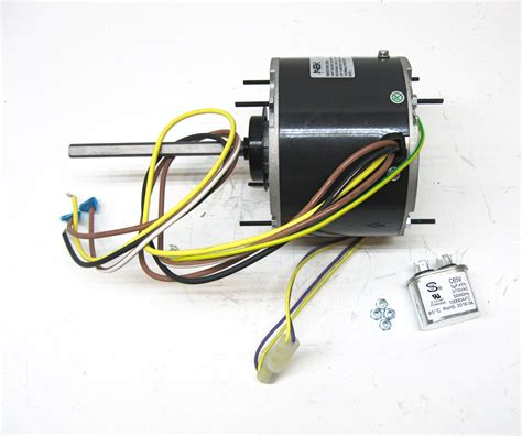 ac fan motor capacitor replacement ac air conditioner condenser fan motor 1 4 hp 1075 rpm 230 volts for fasco d7909 ebay