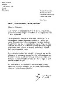 Lettre Motivation Ecole De Patisserie Lettre De Motivation Cap Boulanger Mod 232 Le De Lettre