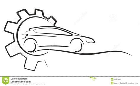 car service logo car service logo stock vector illustration of emblem