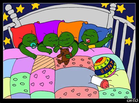 baby mutant turtles by wiedzminka on deviantart