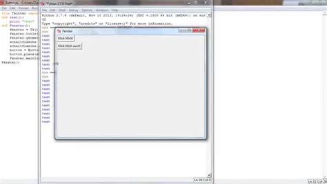 python tutorial animation python tutorial deutsch gui 2 buttons platzieren