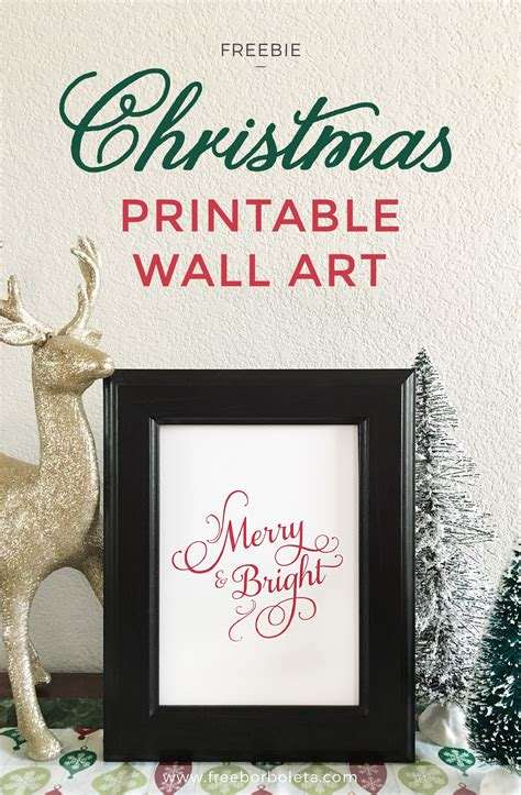 merry bright christmas printables for framing merry and bright free christmas printable art 259 west